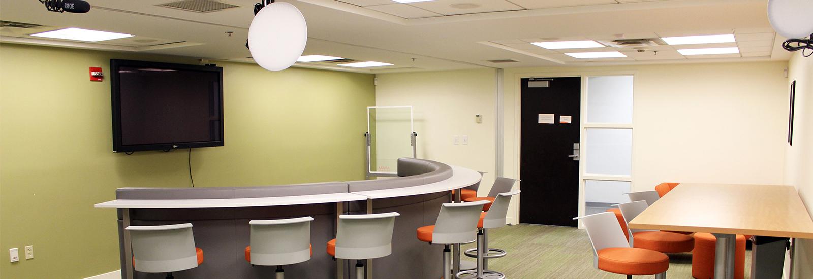 Miami University Library Study Room