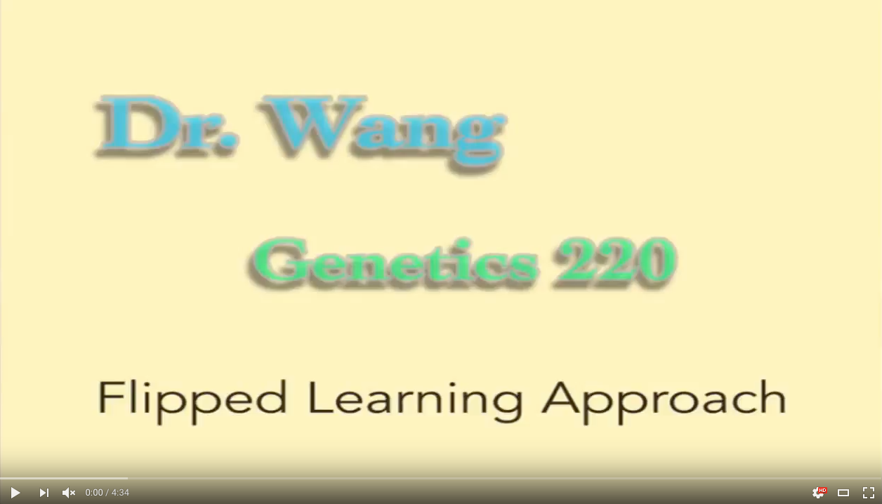 Dr. Wang YouTube Video