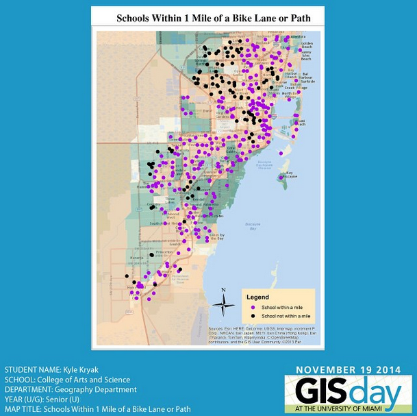 GIS Day at the University of Miami